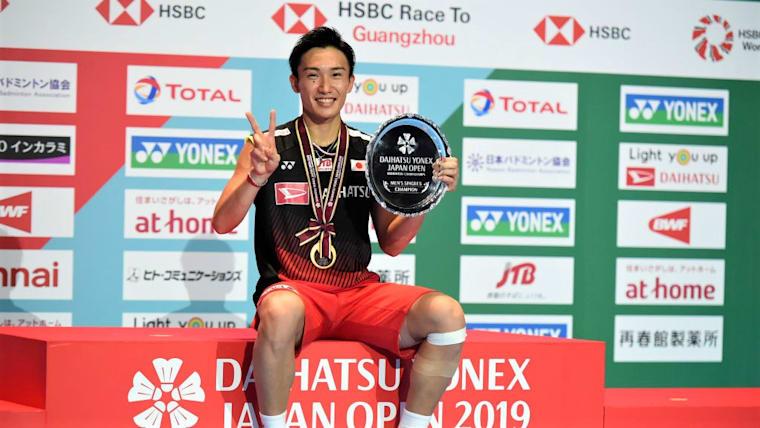 桃田賢斗は、全試合ストレート勝ちで、日本人初の2連覇を達成(写真はジャパンオープン)