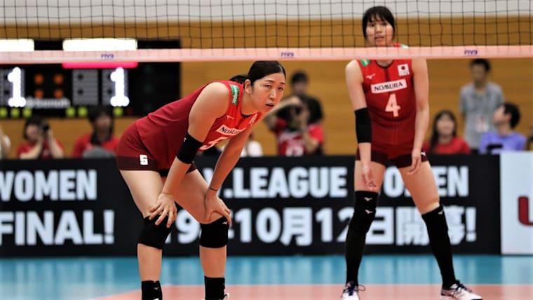 米国に惜敗し、女子日本代表は2勝4敗の9位(写真は国際親善試合・台湾戦)