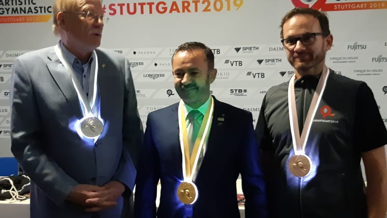 Glowing medals will be awarded at the 2019 World Championships