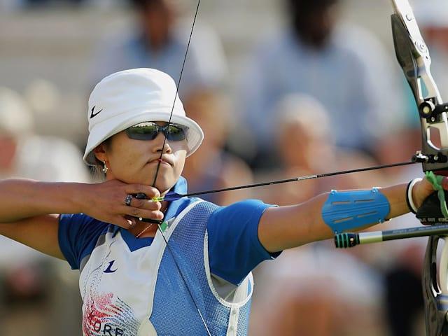 Les records olympiques de la Corée du Sud au tir à l'arc féminin