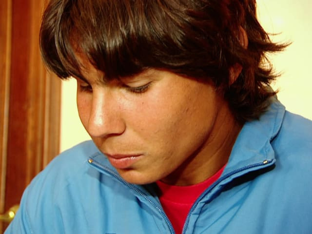 16살의 라파엘 나달