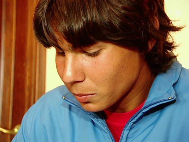 16歳のラファエル・ナダル