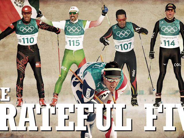 I 'Grateful Five' - Un emozionante viaggio nello sci di fondo
