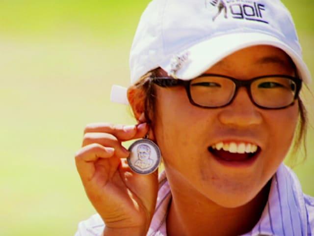 Lydia Ko mit 15 Jahren