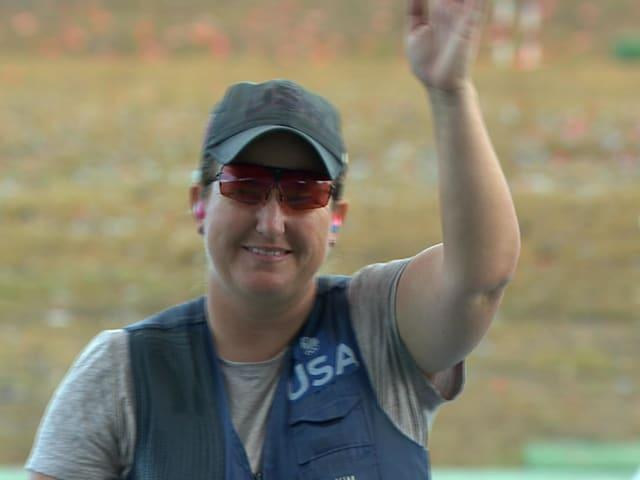La tiradora Rhode gana medallas en seis Juegos Olímpicos consecutivos