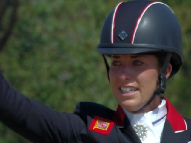 Dujardin wins Equestrian Dressage gold