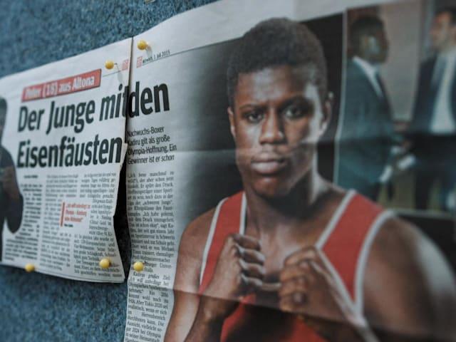Kadiru: la estrella del boxeo que se siente un típico alemán