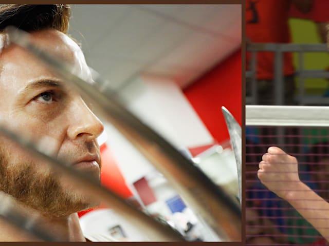 Badminton-Weltmeister Viktor Axelsen fordert Hugh Jackman heraus