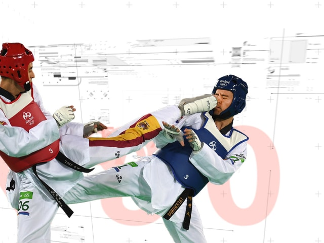 Taekwondo-Stars freuen sich über tragbare Technologien