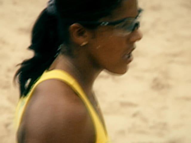 沙滩排球运动员的思维:杰基·席尔瓦