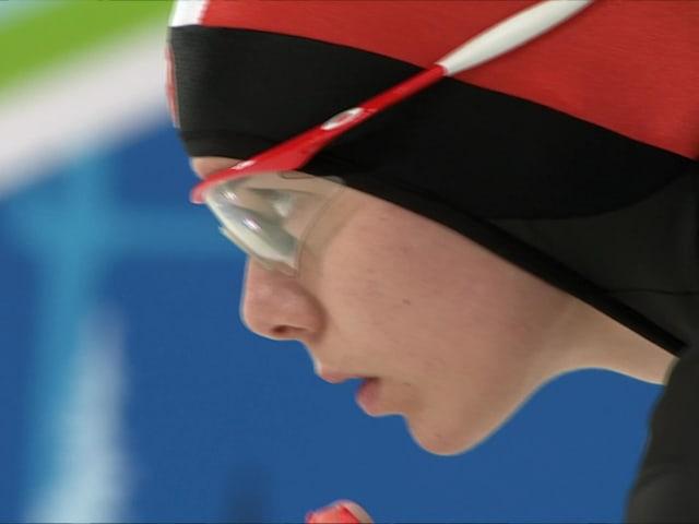 イレイン・ブスト名場面集、スピードスケート1500m   バンクーバー2010