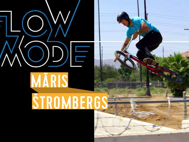 올림픽 챔피언 마리스 스트롬베르그스의 멋진 BMX 원테이크 비디오