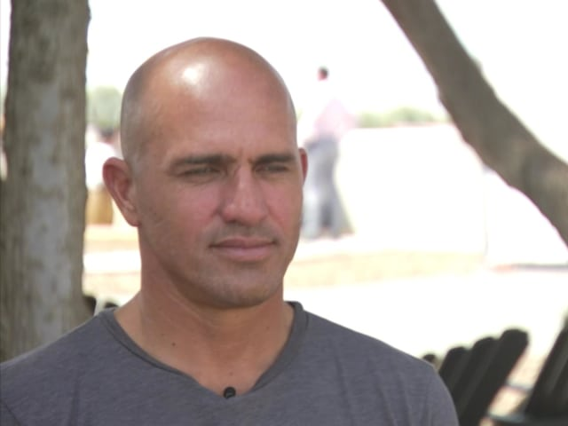 Kelly Slater: I want to surf until I'm 70