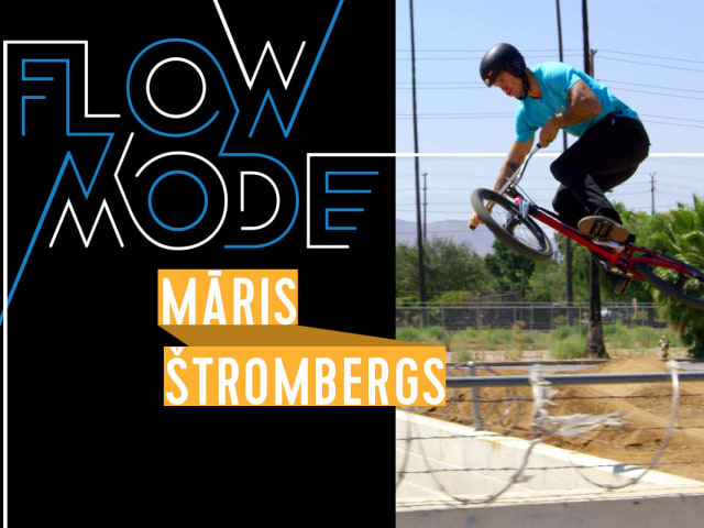 Incredible one-shot BMX brilliance with Olympic champion Maris Strombergs