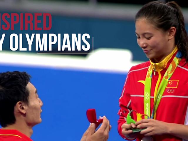 Feliz día de San Valentín | Inspired by Olympians