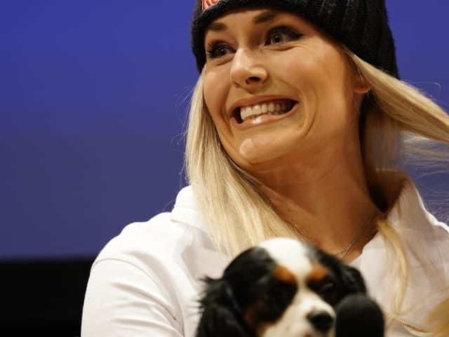 Lindsey Vonn discusses injury comeback and hopes for season