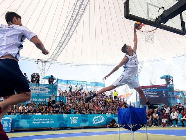 Men's Dunk Contest - 3x3 Basketball | Buenos Aires 2018 YOG