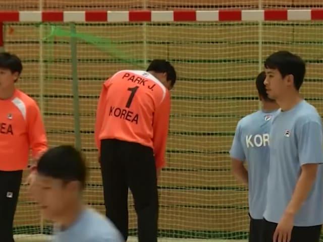 منتخب كوريا الموحد يتطلع ليصبح مصدر الهام في برلين