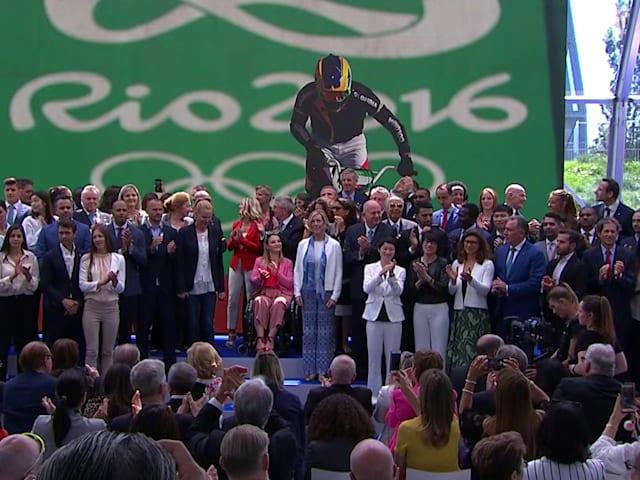 Olympischer Tag: Die Athleten teilen die Leidenschaft für Sport und wie weit das IOC gekommen ist