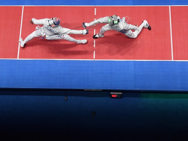 男子半决赛和决赛 | FIE 佩剑大奖赛 - 首尔