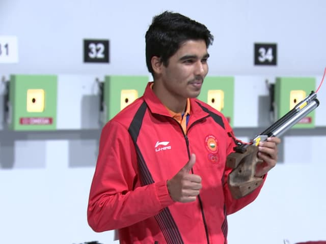 Men's 10m Air Pistol – Shooting | YOG 2018 Highlights