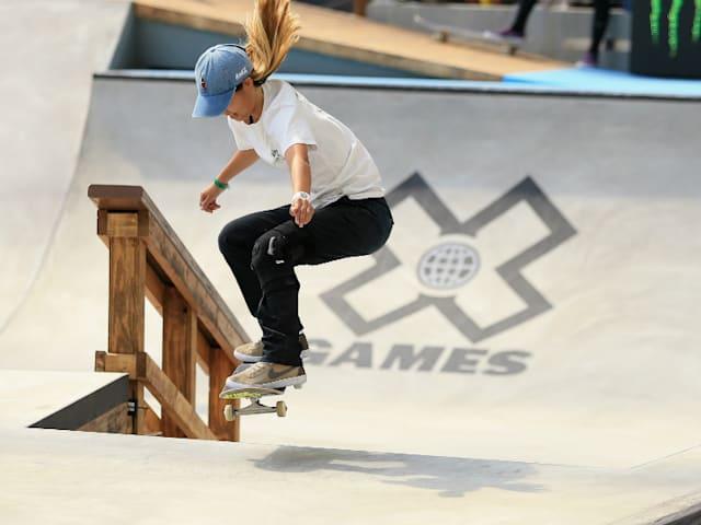 スケートボード:世界選手権の初代女王、西村碧莉は「人と違うことをしたい」。