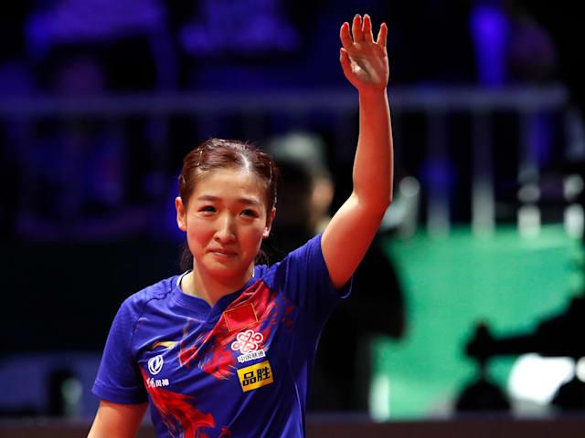 Liu Shiwen wins women's singles at 2019 Table Tennis World Championships