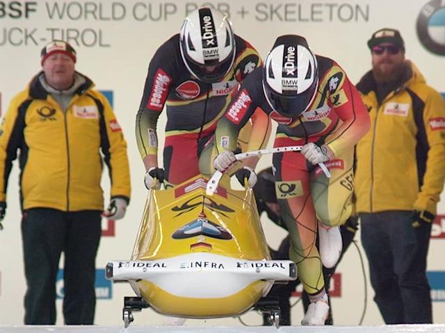 Francesco Friedrich completes year unbeaten in two-man bobsleigh