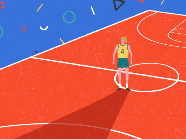 Die Geschichte einer Basketballlegende, die ihre Träume niemals aufgab