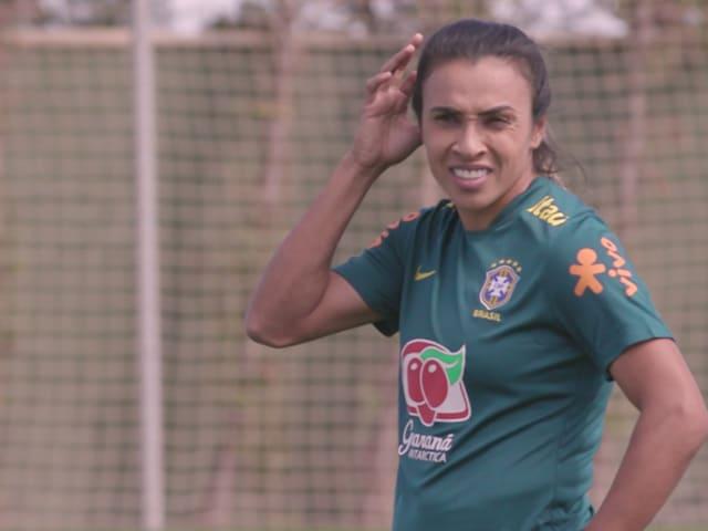 Exclusive! Brazil star Marta on social media: