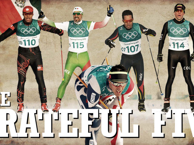 Les Cinq Reconnaissants - Un émouvant voyage en ski de fond