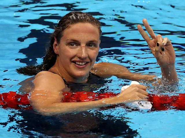 Katinka Hosszu vuole continuare a nuotare fino a Parigi 2024