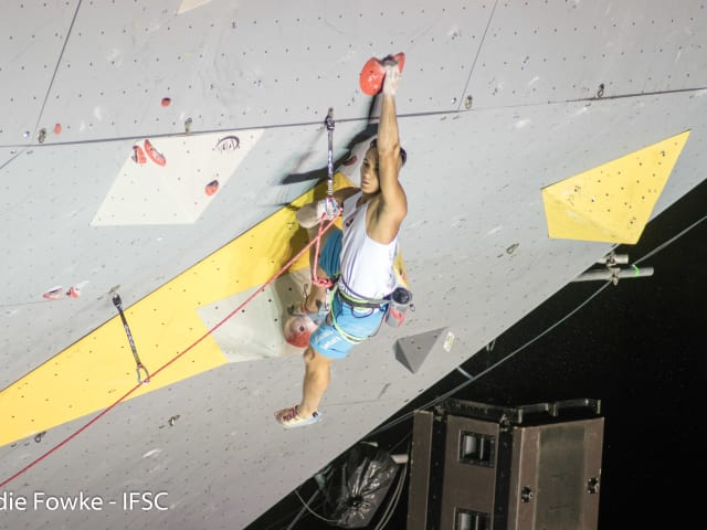 Sport climber Sean McColl: 'The future Olympian'