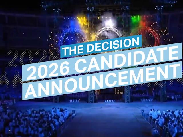 Anúncio do Show: Cidade Candidata de 2026