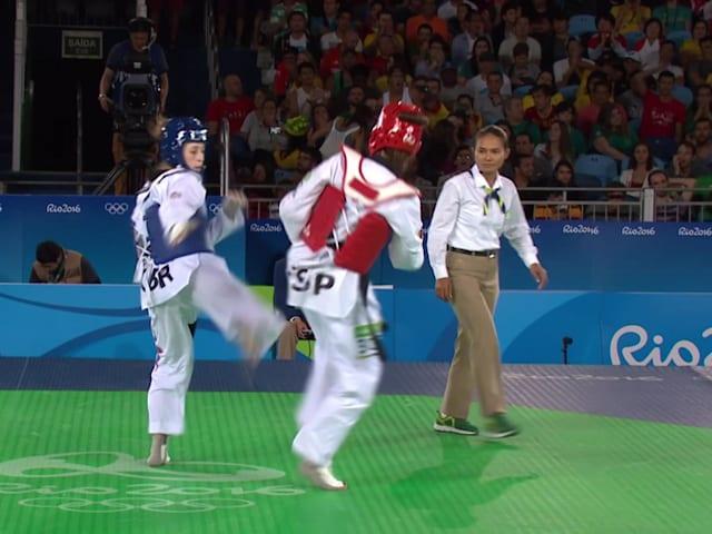 Aprenda a chutar como a bicampeã Olímpica Jade Jones