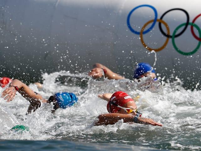 READY STEADY TOKYOー水泳(マラソンスイミング)