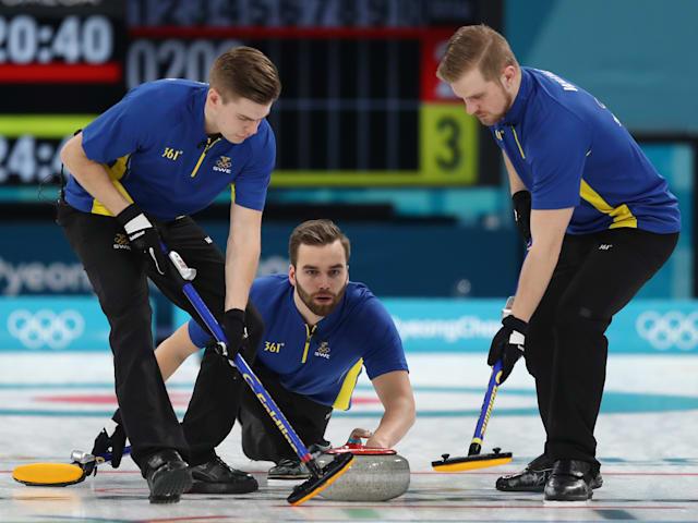 Men - Sweden vs Switzerland   European Curling Championships - Tallinn