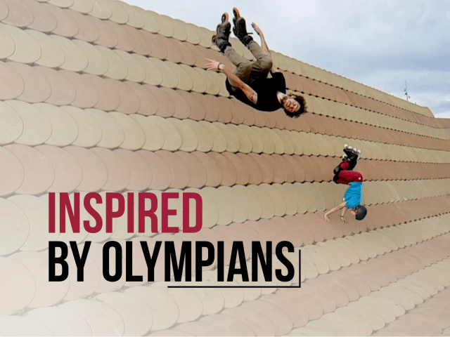 Street Sports Compilation I Inspired by Olympians