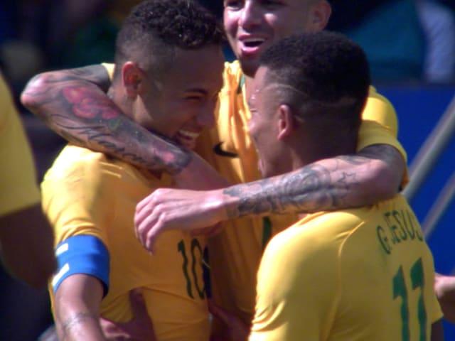 Neymar 'treated us like brothers' says Man City ace Jesus