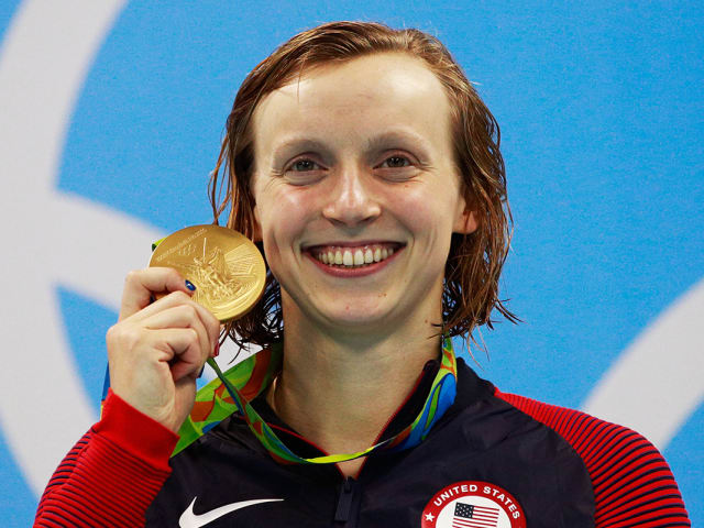 Katie Ledecky: Every Olympic gold medal-winning race