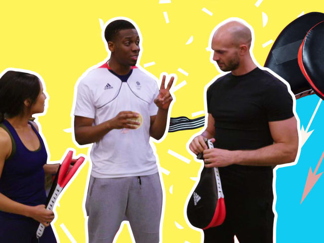 See what goes into a taekwondo Olympic medallist's intense workout