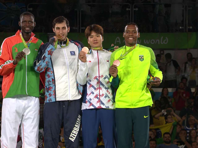 Isaev conquista o ouro na categoria 80kg do taekwondo