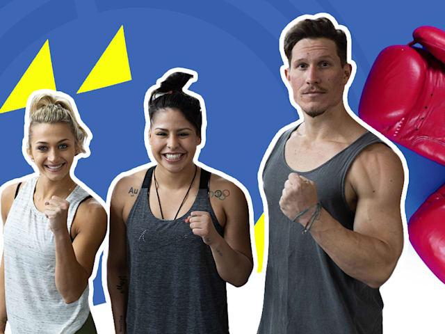 ¿Puede este dúo de fitness aguantar un entrenamiento de boxeo olímpico?