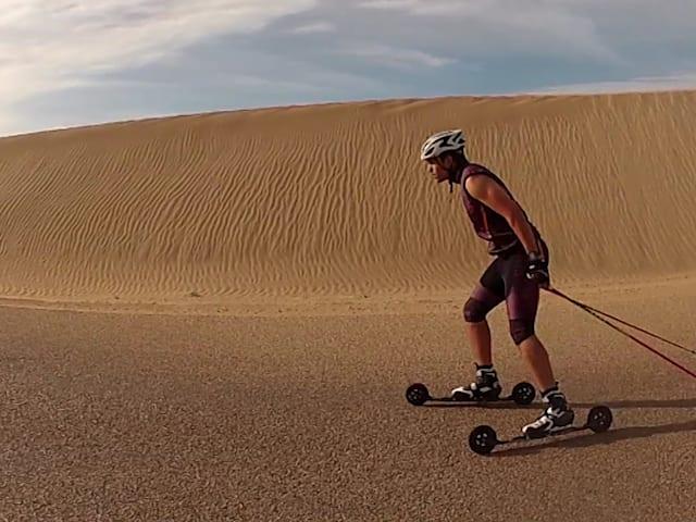 Le skieur de fond et alpin marocain vise une troisième olympiade d'hiver