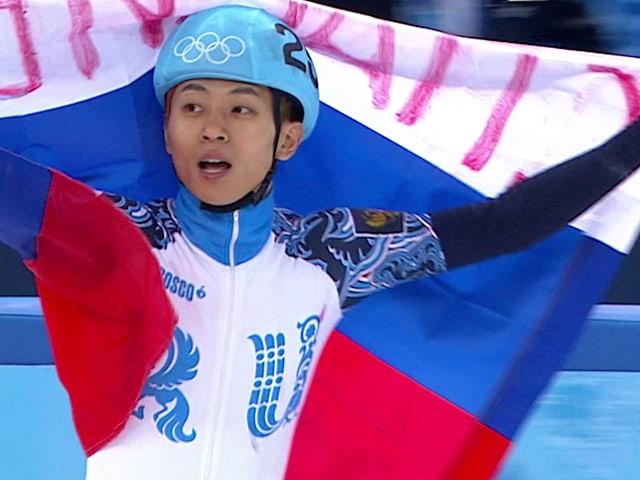 빅토르 안의 러시아 첫 영광, 500m