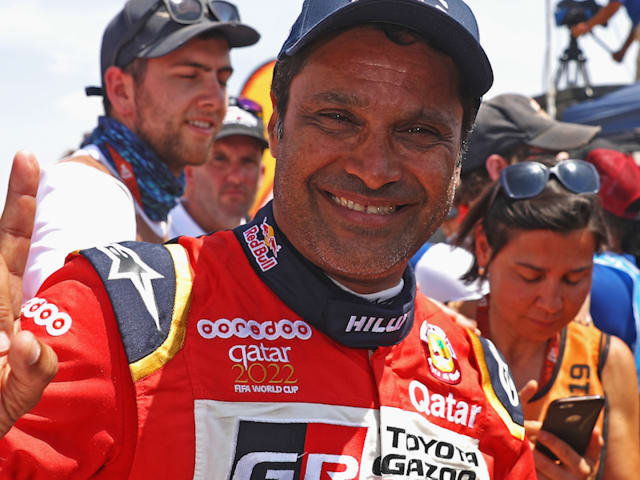 Dakar rally champ and Olympian Nasser Al-Attiyah going for a dream double