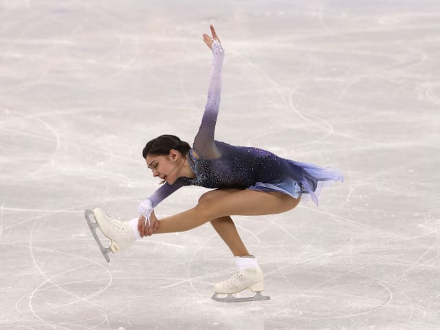 Evgenia Medvedeva 'ready to work' after finishing second at Autumn Classic