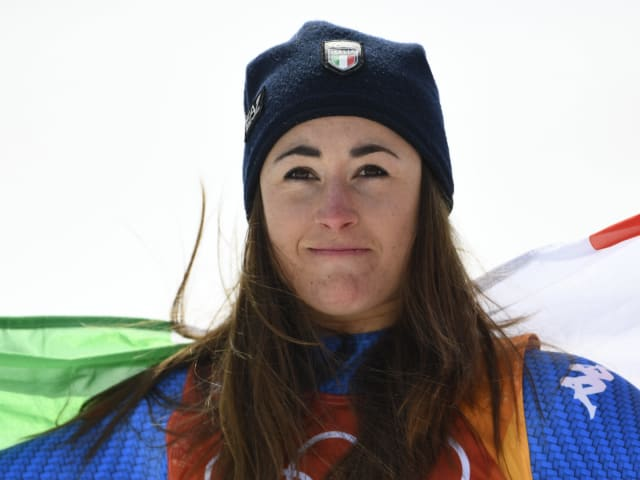 Sofia Goggia relives spiritual moment at PyeongChang
