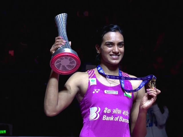 Sindhu se corona en el BWF World Tour Finals