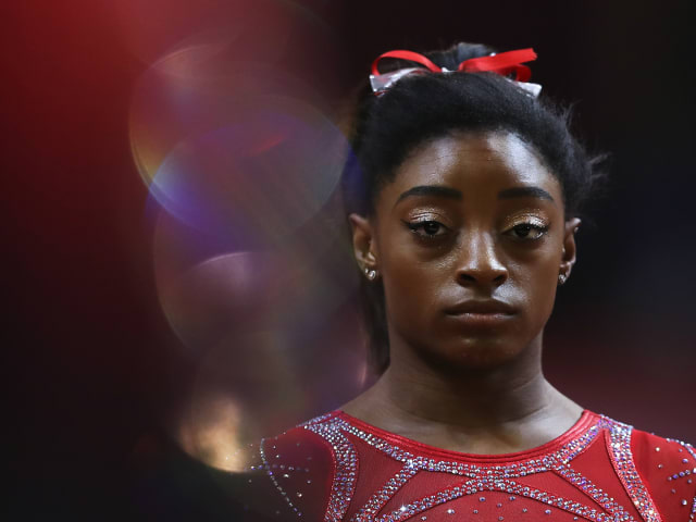 History at every turn for Simone Biles in Doha